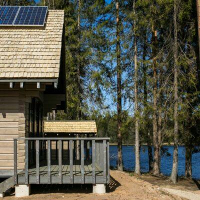 Dabas māja pie Palpiera ezera