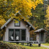 Dabas māja pie Raipala ezera